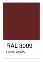 RAL-3009 Rosso  ossido