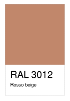RAL-3012 Rosso beige