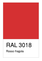 RAL-3018 Rosso fragola