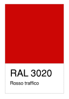 RAL-3020 Rosso traffico