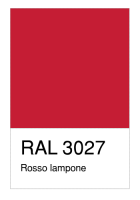 RAL-3027 Rosso lampone