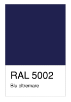 RAL-5002 Blu oltremare