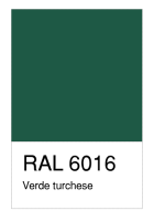 RAL-6016 Verde turchese
