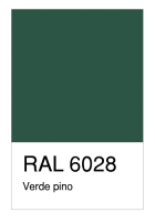 RAL-6028 Verde pino
