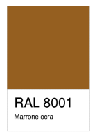RAL-8001 Marrone ocra