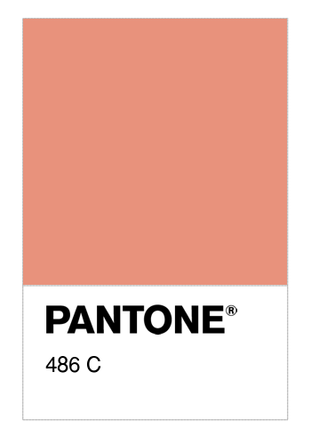Colore PANTONE® 486 C - Numerosamente it